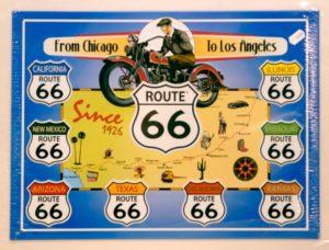 plaque_serigraphiee_route66
